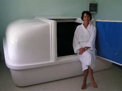 Happy owner of a Restingwell Floatingtank